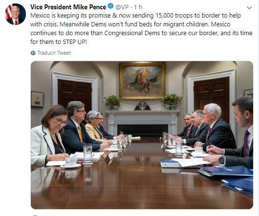 Foto México cumple con promesa y envía 15 mil soldados 25 junio 2019