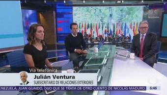 México estará presente en todas las actividades del G20: Julián Ventura
