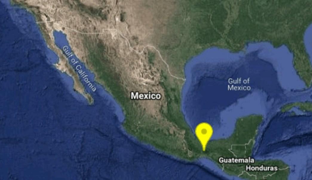 Foto: La tarde de este domingo, se registró un sismo magnitud 5.1 en Oaxaca con epicentro al noreste del municipio de Matías Romero, junio 23 de 2019 (Twitter: @SSNMexico)