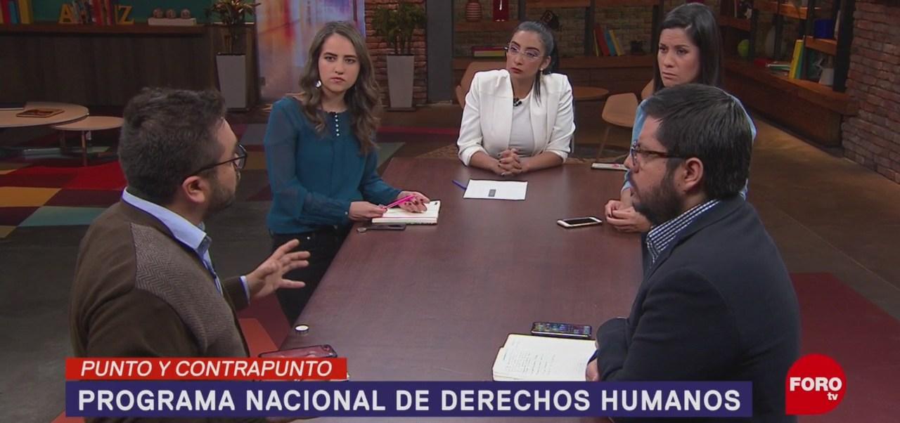 Foto: México Programa Nacional Derechos Humanos 17 Junio 2019