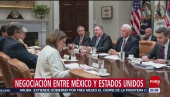 Foto: México Estados Unidos Negociación Aranceles 5 Junio 2019