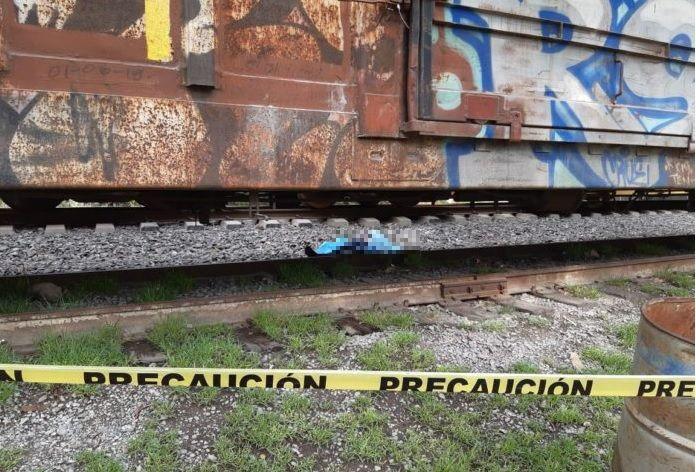 Foto: migrante muerta al caer de tren en Hidalgo, 26 de junio 2019. Twitter @indepe_hgo