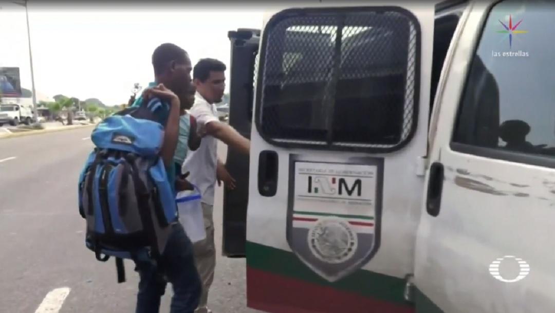 Choferes de transporte público evitan subir a migrantes en Chiapas