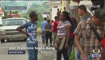 Foto: Migrantes compran documentos falsos para cruzar por Chiapas