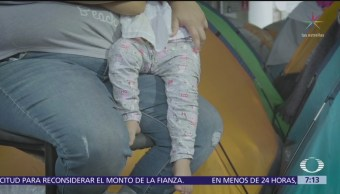 Migrantes esperan en albergues de Tijuana que Estados Unidos les otorgue asilo