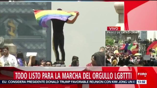 FOTO: Miles participan en Marcha del Orgullo LGBTTTI en CDMX, 29 Junio 2019