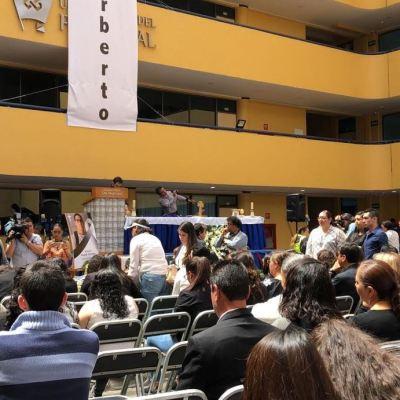 Ofrecen misa en honor a Norberto Ronquillo, estudiante universitario secuestrado