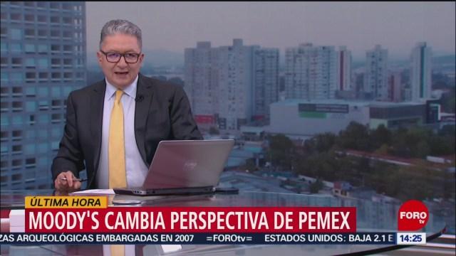 FOTO: Moddy's cambia perspectiva de Pemex a negativa