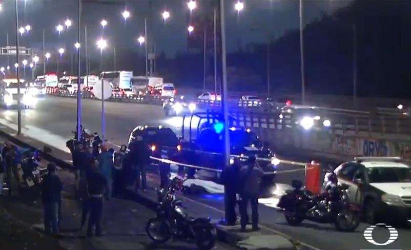Foto: En Insurgentes Norte un motociclista murió al derrapar la motocicleta que conducía, 14 junio 2019
