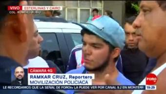 FOTO: Movilización policiaca tras riña en alcaldía Venustiano Carranza, CDMX, 16 Junio 2019