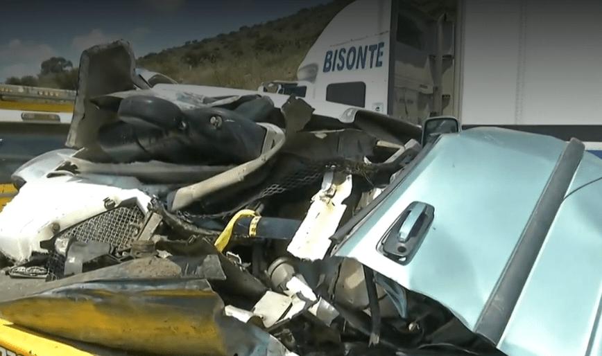 Foto: Muere una persona en accidente en Arco Norte, 18 de junio de 2019, México