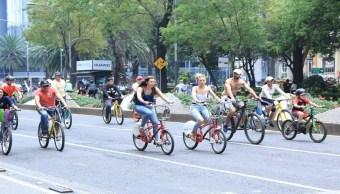 Paseo dominical 'Muévete en Bici' cumple 12 años