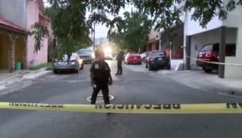 Foto: Mujer asesinada en Guadalupe, NL, 27 de junio 2019. Twitter @_LASNOTICIASMTY