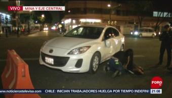 FOTO: Mujer atropellada espera arribo de ambulancia por más de una hora en CDMX, 15 Junio 2019