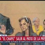 Foto: Niegan a 'El Chapo' petición para salir al patio de la cárcel en EU