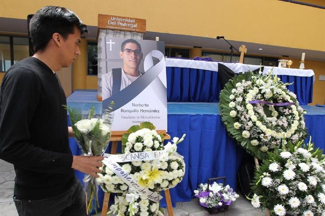 Foto: restos de Norberto Ronquillo llegan a Meoqui, Chihuahua, 10 de junio 2019. EFE