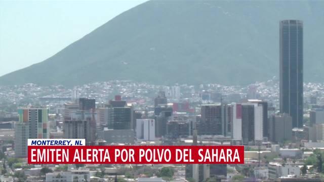 Nube de arena del desierto de Sahara podría llegar a Nuevo León
