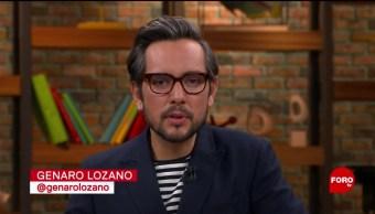 FOTO. Punto y Contrapunto, con Genaro Lozano: Programa del 7 de junio de 2019
