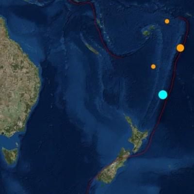 Un sismo de magnitud 7.2 sacude Nueva Zelanda