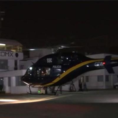 Trasladan cuatro órganos en helicóptero a diferentes hospitales en la CDMX