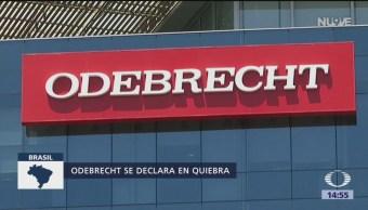 Foto: Otorgan protección por bancarrota a Odebrecht