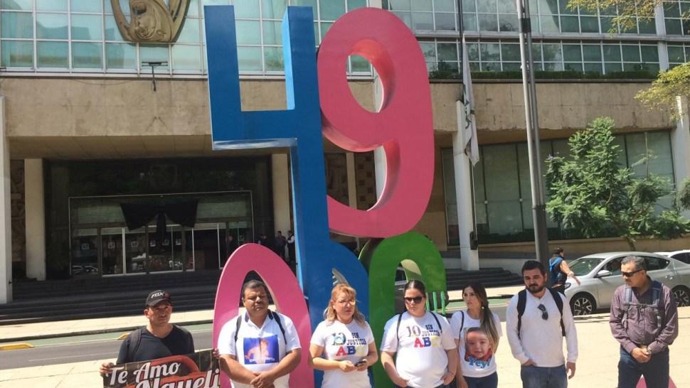 Foto Padres de víctimas de la Guardería ABC protestan en CDMX 5 junio 2019
