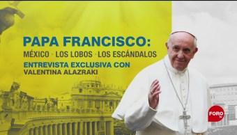 FOTO: Papa Francisco entrevista exclusiva con Valentina Alazraki, 1 Junio 2019