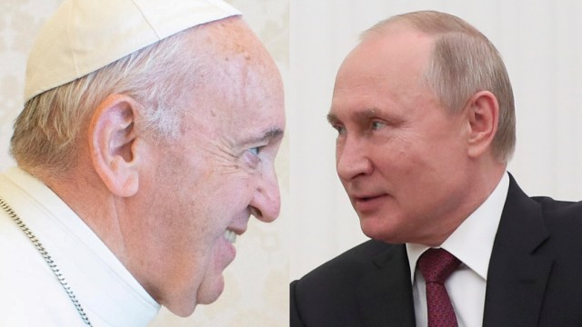 Papa Francisco recibirá a Vladimir Putin el 4 de julio
