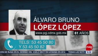 Foto: Se pide la colaboración del público para localizar a Álvaro Bruno López López, de 61 años