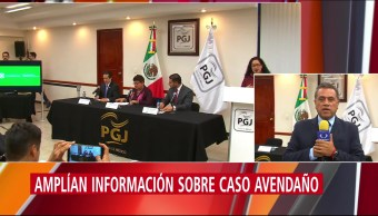 PGJCDMX amplía información sobre homicidio de Leonardo Avedaño