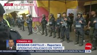 Foto: PGJCDMX y SSC realizan operativo en Tepito