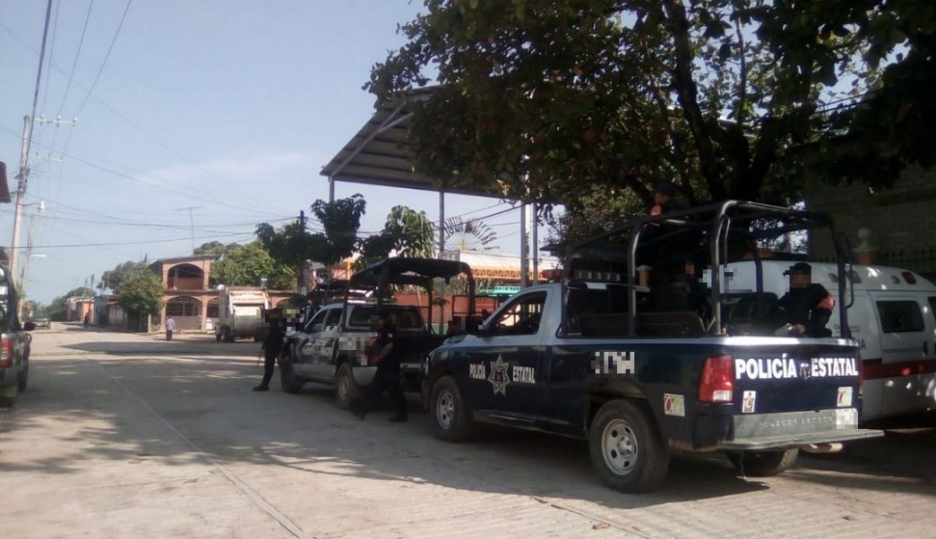 Foto: policía estatal de Oaxaca, 12 de junio 2019. Twitter @SSP_GobOax