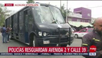 Foto: Poliías Enfrentamientos CDMX Iztapalapa 7 Junio 2019