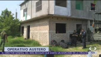 Policías y militares que controlan migrantes enfrentan malas condiciones
