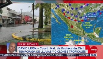 FOTO: Prevén fuertes lluvias en próximas horas en gran parte del país