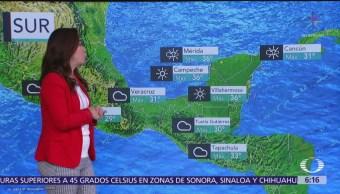 Prevén lluvias intensas en Guanajuato, Michoacán, Guerrero y Oaxaca