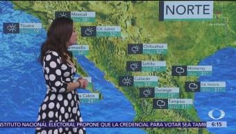 Prevén tormentas en Tamaulipas, Puebla y Veracruz
