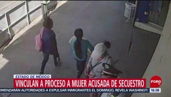 FOTO: Procesan a mujer por robar a menor en Edomex, 22 Junio 2019