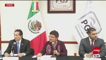 Procuraduría capitalina informa avances de caso Avendaño