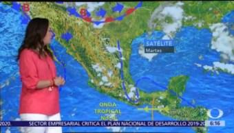 Pronostican en seis estados lluvias, actividad eléctrica y granizo