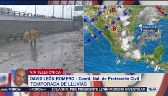 Foto: Protección Civil emite recomendaciones ante temporada de lluvias