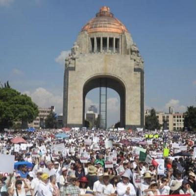 Protestan en CDMX y en varios estados contra el gobierno de AMLO