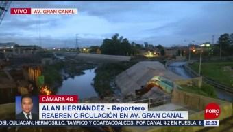 Foto: Circulación Avenida Gran Canal 24 Junio 2019