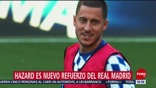 Foto: Real Madrid Ficha Eden Hazard 7 Junio 2019