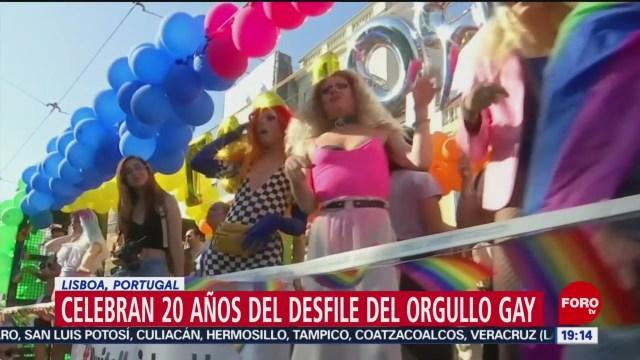 FOTO: Realizan desfiles por el Orgullo Gay en el mundo, 29 Junio 2019
