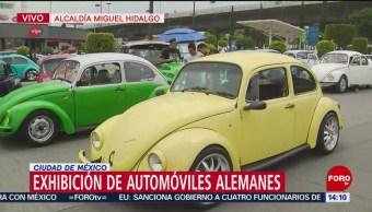 FOTO: Realizan exhibición de automóviles alemanes en CDMX, 23 Junio 2019