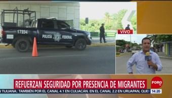FOTO: Refuerzan seguridad por presencia de migrantes en Chiapas, 16 Junio 2019