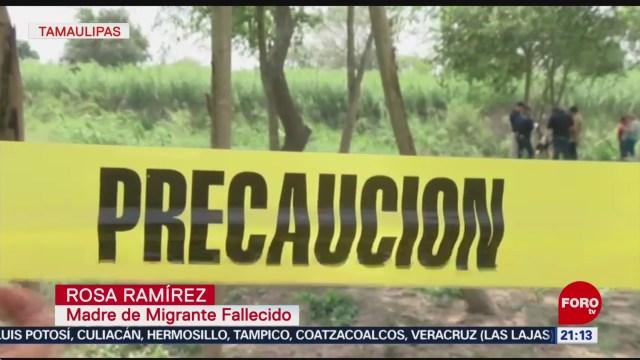 Foto: Cuerpos Migrantes Ahogados Río Bravo 26 Junio 2019