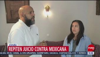 Foto: Repiten Juicio Contra Mexicana Acusada Terrorismo España 6 Junio 2019