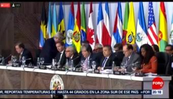 Foto: Oea Crisis Migratoria Venezuela 28 Junio 2019